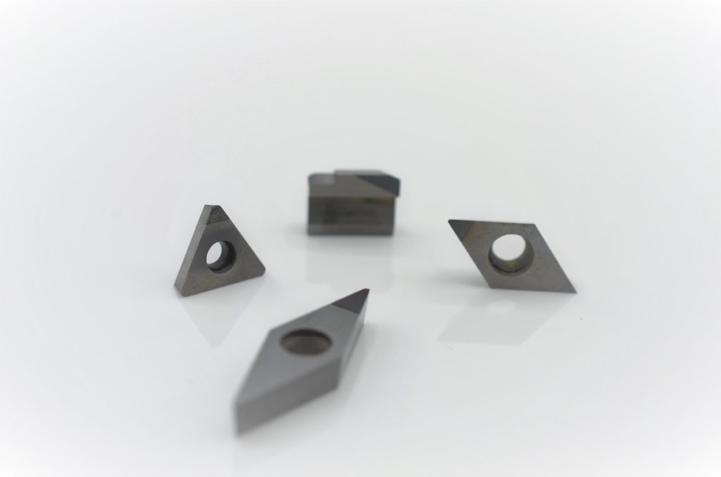 reconditioned inserts - PCD-Tipped Carbide Inserts